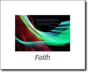 The Faith Poem Poster